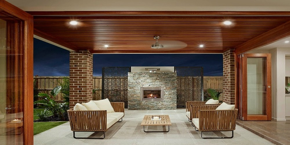 Minimalist Design Alfresco Area